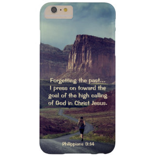 I press on toward the goal Philippians 3:14 Bible Barely There iPhone 6 Plus Case