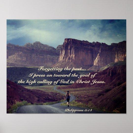 I press on towards the goal Philippians 3:14