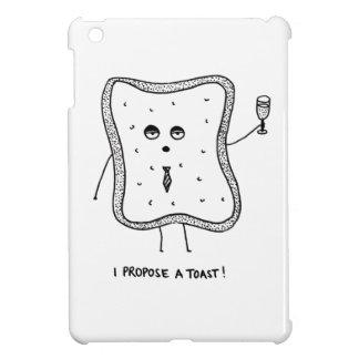 I Propose a Toast iPad Mini Cover