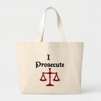 I Prosecute Lawyer Bag