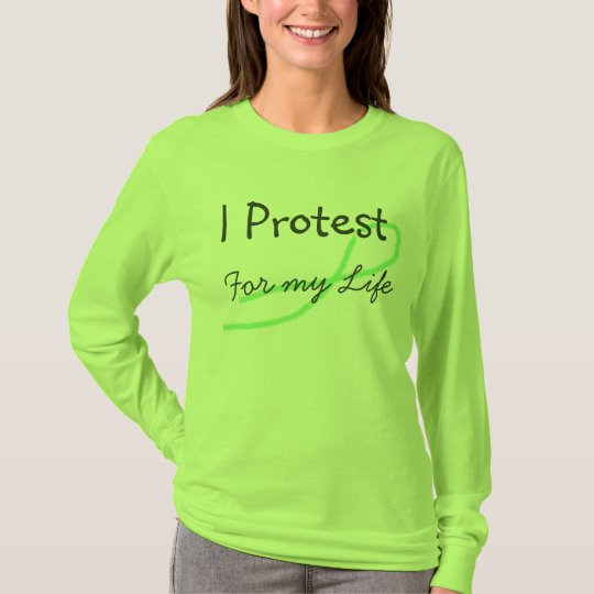 I Protest for my Life Lyme Disease Awareness