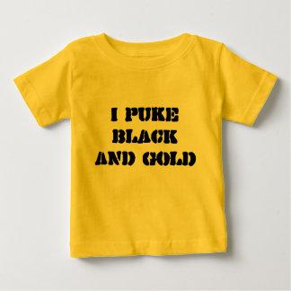 I puke BLACK AND GOLD Baby T-Shirt