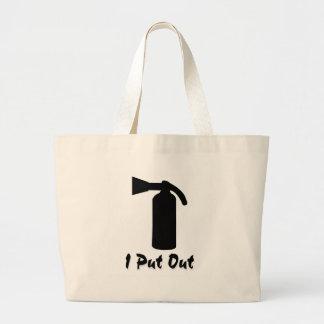 I Put Out Jumbo Tote Bag