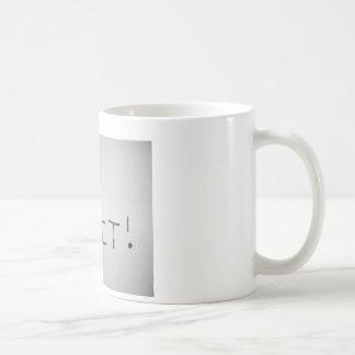 I Quit Basic White Mug
