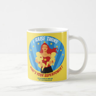 I Raise Twins - What's Your Superpower? Coffee Mug