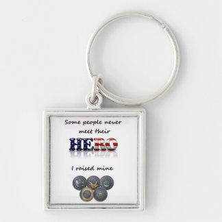 I raised my HERO keychain