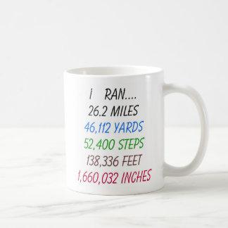 I Ran 26.2 Miles mug
