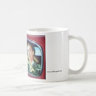 I ran into my ex! basic white mug