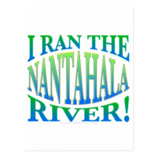 I Ran the Nantahala River Postcard