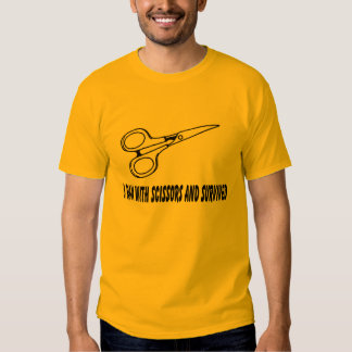 i ran with scissors and survived shirt