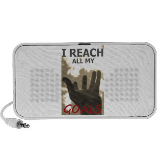 I reach all my goals speaker system