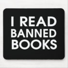 I Read Banned Books Mouse Mat