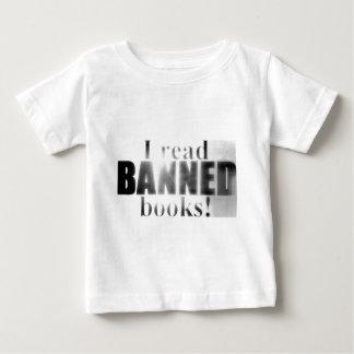 I read banned books! shirts