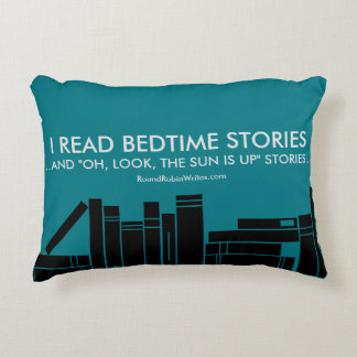 I Read Bedtime Stories (pillow) Decorative Cushion
