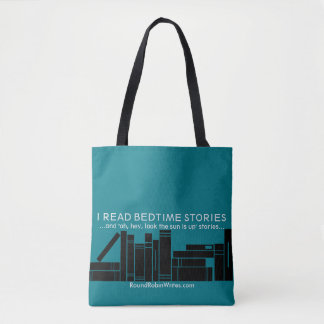 I Read Bedtime Stories (tote) Tote Bag