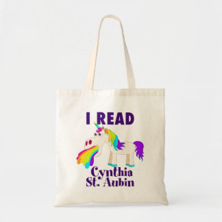 I Read Cynthia St. Aubin Tote