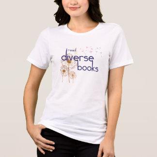 I Read Diverse Books (light) Tee Shirt