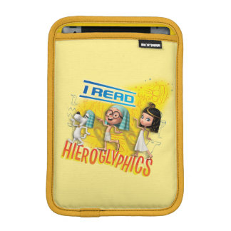 I Read Hieroglyphics iPad Mini Sleeve