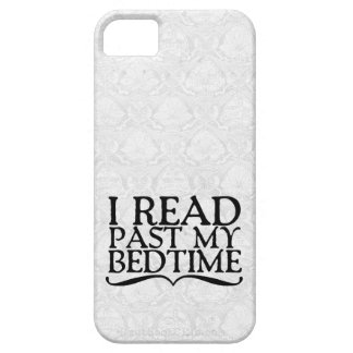 I Read Past My Bedtime iPhone 5 Cover