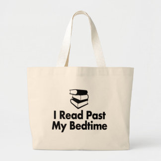 I Read Past My Bedtime Tote