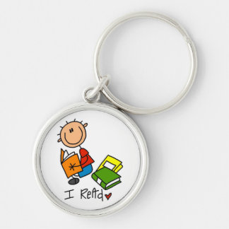 I Read Tshirts and Gifts Key Chain