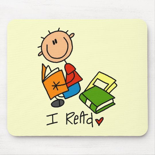 I Read Tshirts and Gifts Mouse Mat