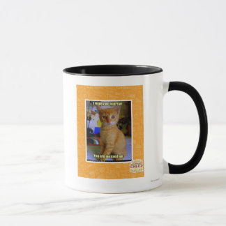 I read your journal mug