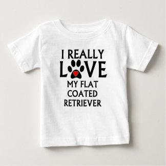 I Really Love My Flat-Coated Retriever T-shirts