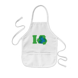 I Recycle Earth Day Apron