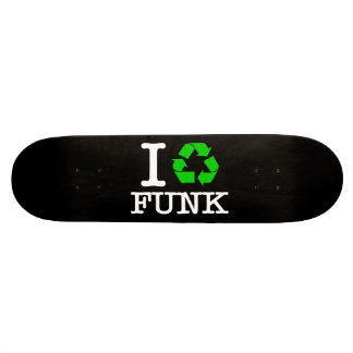 I Recycle Funk 20.6 Cm Skateboard Deck