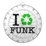 I Recycle Funk Dartboards