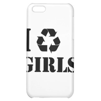 I Recycle Girls iPhone 5C Cover