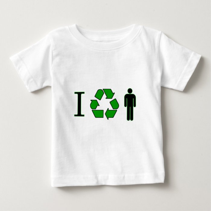 I recycle men baby T-Shirt