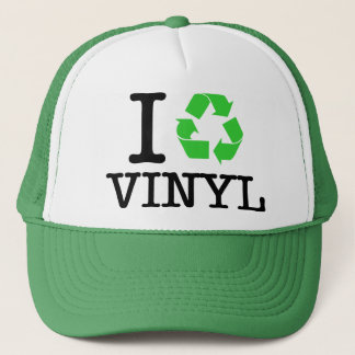 I Recycle Vinyl Trucker Hat