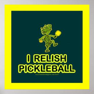 I Relish Pickleball Shirts & Gifts Print