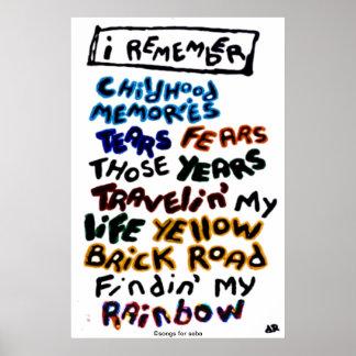 I Remember Poster
