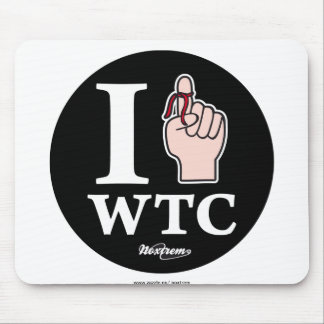 I REMEMBER WTC MOUSE PAD