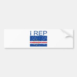 I rep Cape Verde Bumper Sticker