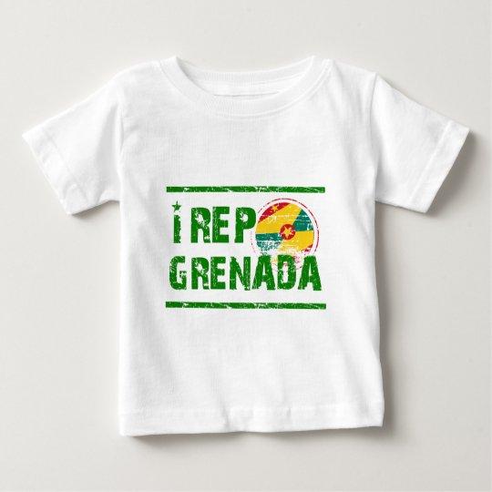 I rep Grenada Baby T-Shirt
