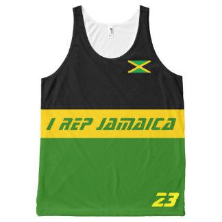 I rep Jamaica All-Over Print Tank Top