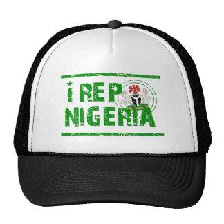 I rep Nigeria Hats