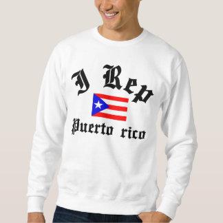 I rep Puerto rico Pullover Sweatshirt