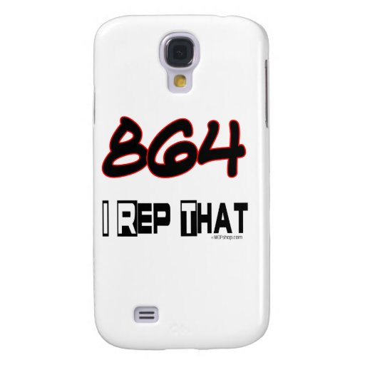 I Rep That 864 Area Code Samsung Galaxy S4 Case