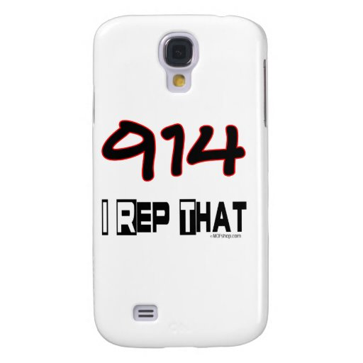 I Rep That 914 Area Code Samsung Galaxy S4 Covers