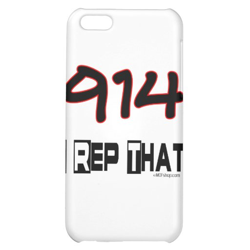I Rep That 914 Area Code Cover For iPhone 5C