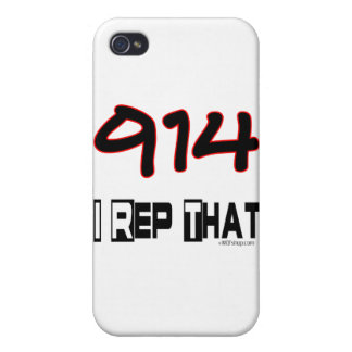 I Rep That 914 Area Code iPhone 4/4S Cover