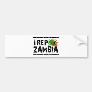 I rep Zambia Bumper Sticker