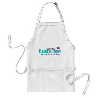 I Rescued a Bashkir Curly (Male Horse) Standard Apron