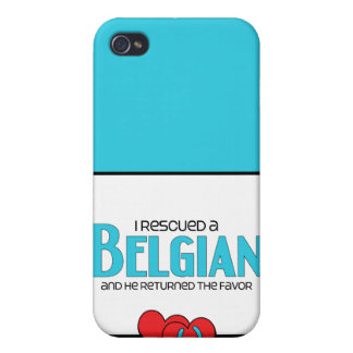 I Rescued a Belgian (Male Horse) Cover For iPhone 4