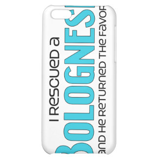 I Rescued a Bolognese (Male Dog) iPhone 5C Case
